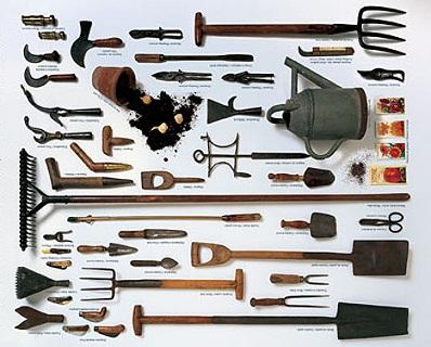 Ecco il set di attrezzi da giardino indispensabile l - Attrezzi da giardino nomi ...